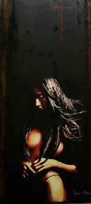 Painting - Humanografia 3  by Romeo Niram