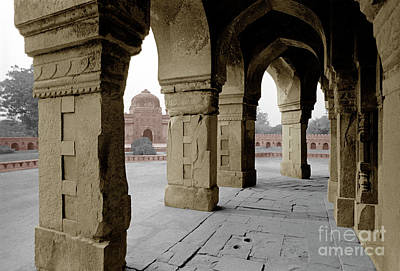 Photograph - Humayans Tomb - Delhi India by Craig Lovell