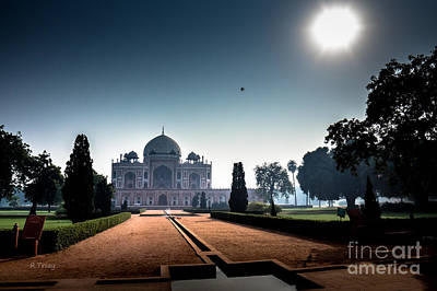 Photograph - Sunrise Over Humayun's Tomb Delhi India  by Rene Triay Photography