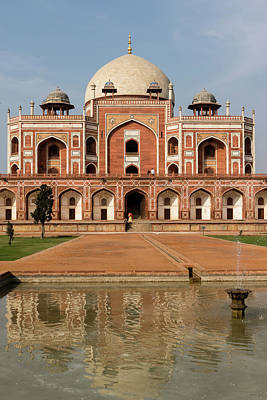 Photograph - Humayun's Tomb 2 by Steven Richman