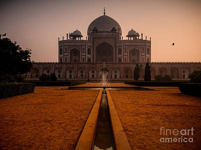 World War 2 Action Photography Royalty Free Images - Humayuns Tomb India Royalty-Free Image by M G Whittingham