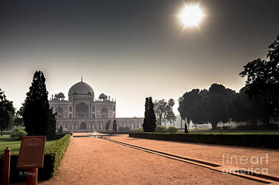 Photograph - Humayun's Tomb New Delhi by Rene Triay Photography
