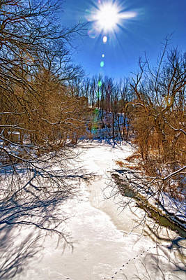 Photograph - Humber River - Winter Moods by Steve Harrington