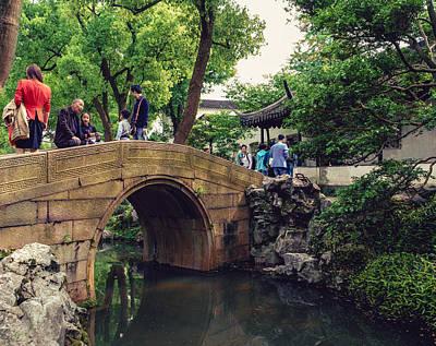 Photograph - Humble Administrator's Garden Bridge by Nisah Cheatham