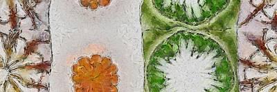 Tenn Painting - Humbling Beauty Flowers  Id 16165-124209-23400 by S Lurk