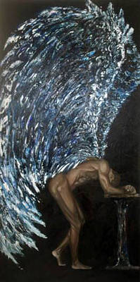 Knifework Painting - Humility by Michelle Fayant