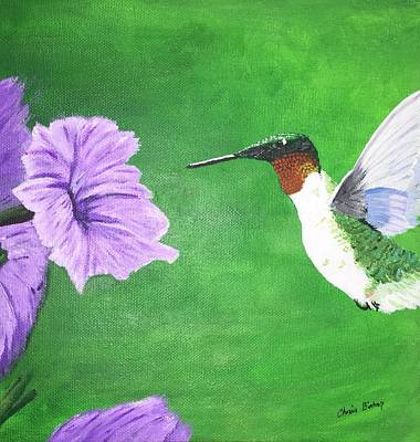 Painting - Hummer by Chris Bishop