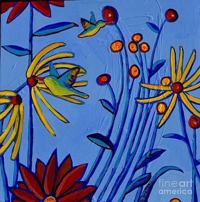Painting - Humming Along by Debra Bretton Robinson