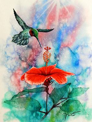 Humming Bird #2 Original