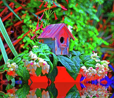 Photograph - Humming Bird House by Art Mantia