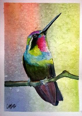 Painting - Hummingbird #1 by Richard Benson