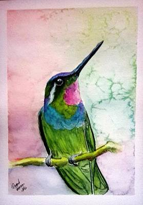 Painting - Hummingbird #2 by Richard Benson