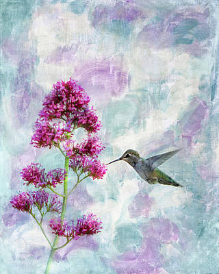 Photograph - Hummingbird 3 by Rebecca Cozart