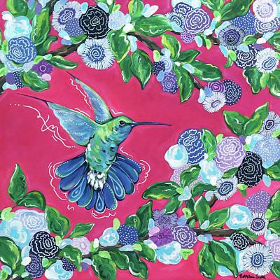 Painting - Hummingbird by Beth Ann Scott