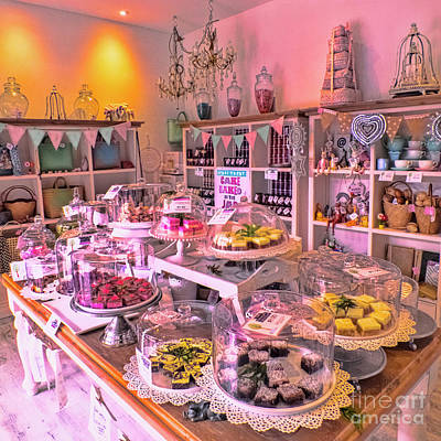 Photograph - Hummingbird Cake Shop by Karen Lewis