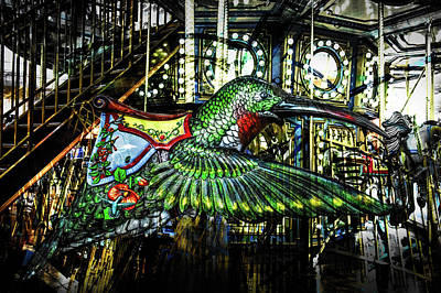 Photograph - Hummingbird Carousel by Michael Arend