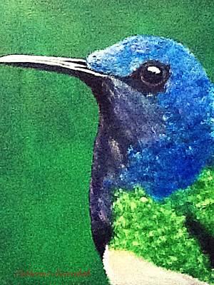 Painting - Hummingbird by Catherine Swerediuk