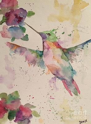 Painting - Hummingbird by Denise Tomasura