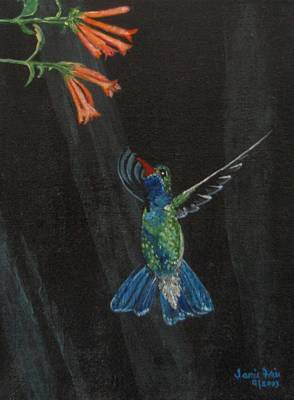 Painting - Hummingbird by Jamie Frier