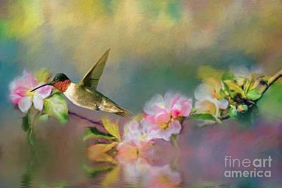 Hummingbird Print by Kathleen Rinker