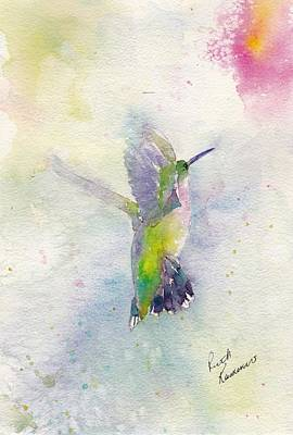 Painting - Hummingbird by Ruth Kamenev