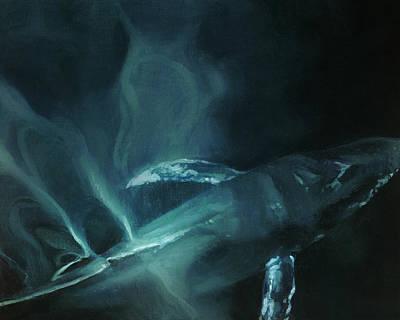 Humpback Whale II Art Print by Heather Theurer