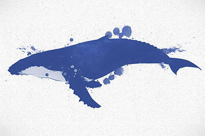 Painting - Humpback Whale Watercolor by Dan Sproul