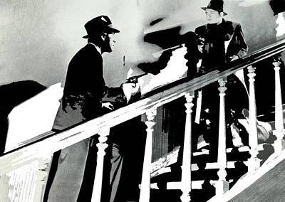 Edward G. Robinson Wall Art - Photograph - Humphrey Bogart Edward G. Robinson Bullets Or Ballots 1936-2016  by David Lee Guss