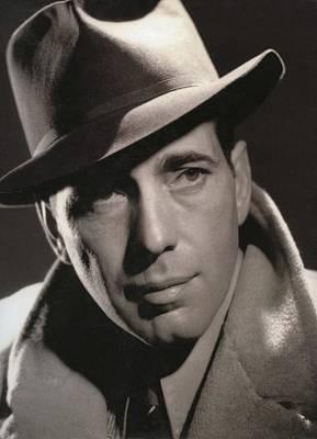 Hurrell Photograph - Humphrey Bogart George Hurrell Photo #1 1939 by David Lee Guss