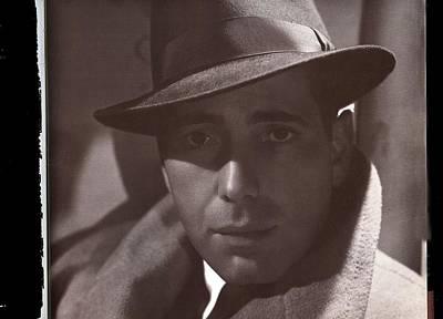 Hurrell Photograph - Humphrey Bogart George Hurrell Photo #3 1939-2016 by David Lee Guss