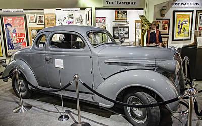 Photograph - Humphrey Bogart High Sierra Car by David Lawson