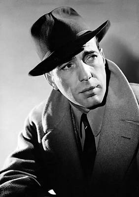 Bogart Photograph - Humphrey Bogart by Mountain Dreams