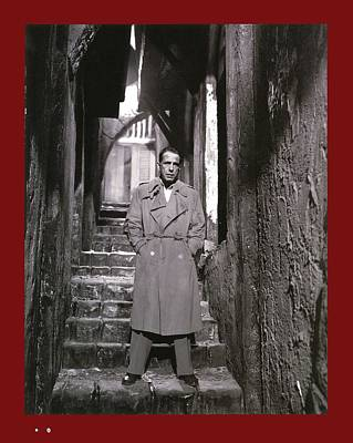 Sirocco Photograph - Humphrey Bogart Sirocco 1951-2016 by David Lee Guss