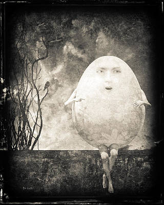 Surrealism Royalty Free Images - Humpty Dumpty Royalty-Free Image by Bob Orsillo