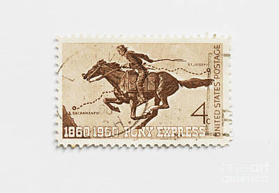 Photograph - Hundred Years Pony Express by Patricia Hofmeester