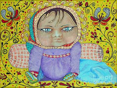 Painting - Hungarian Lullaby -- #1 Hungarian Rhapsody Series by Jayne Somogy