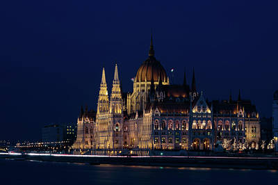 Photograph - Hungarian Parliament Building #1 by Michael Niessen