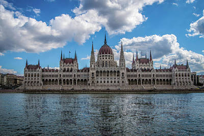 Photograph - Hungarian Parliament Building by Daria Klepikova