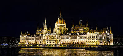 Photograph - Hungarian Parliament by Heather Applegate