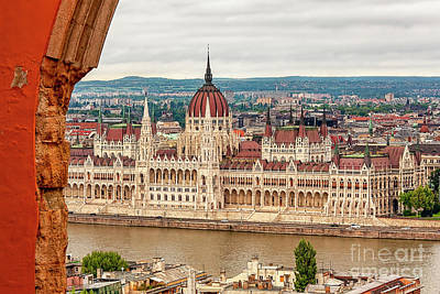 Photograph - Hungarian Parliament In Budapest by Kay Brewer