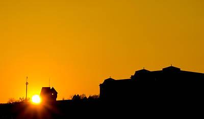 Photograph - Hungarian Sunset by David Warrington