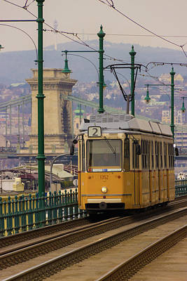 Photograph - Hungarian Tram by David Warrington