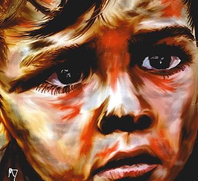 Hunger Digital Art - Hunger  Number 2 by Michelle Dick