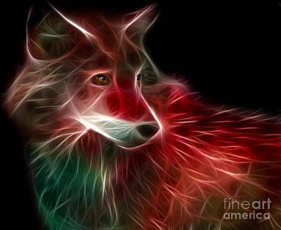 Digital Art - Hunger Prowl by Peter Piatt