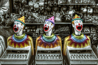 Photograph - Hungry Clowns by Wayne Sherriff