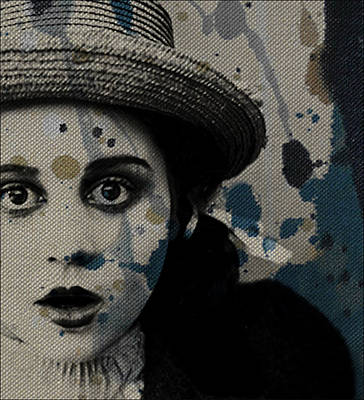 Woman Mixed Media - Hungry Eyes by Paul Lovering