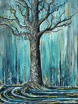 Painting - Hungry Winter by Yom Tov Blumenthal