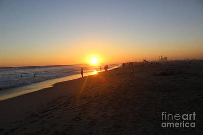 Photograph - Huntington Sunset by Jenny Revitz Soper