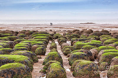 Photograph - Hunstanton Beach, Norfolk by Colin and Linda McKie