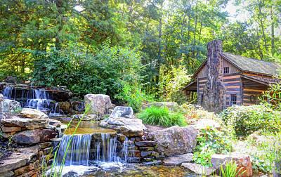 Photograph - Hunt Cabin At The Botanical Gardens by Savannah Gibbs